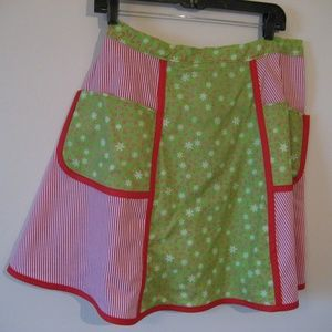 Custom Handmade Christmas Apron - NEW w/Tag